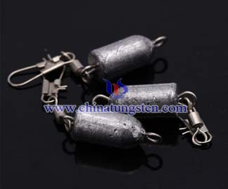 Tungsten Bell Fishing Sinkers Picture